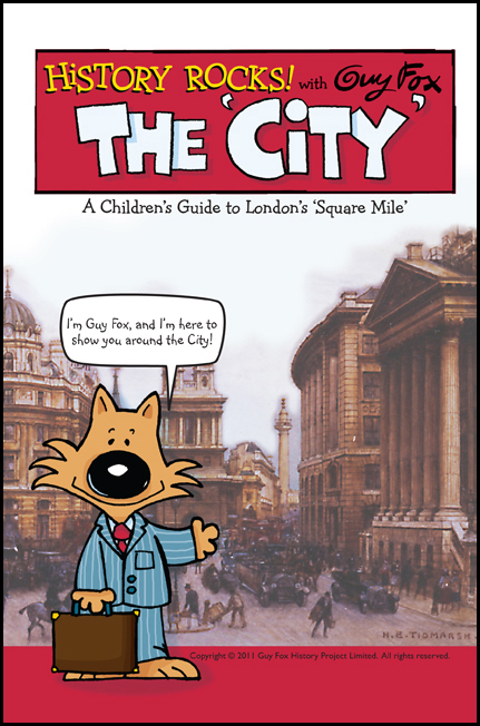 'History Rocks: The City' Book Cover