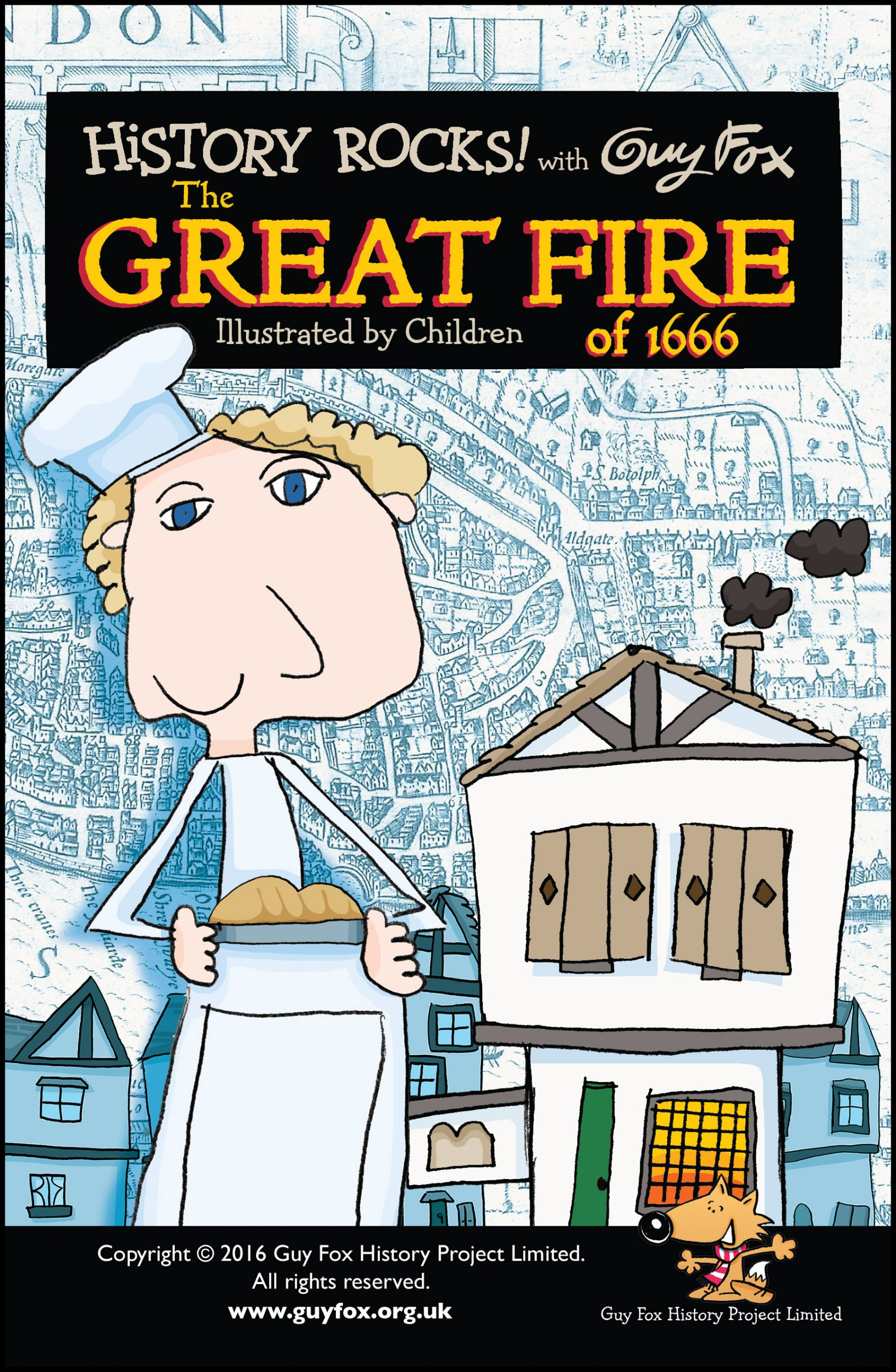 'History Rocks: Great Fire' book cover