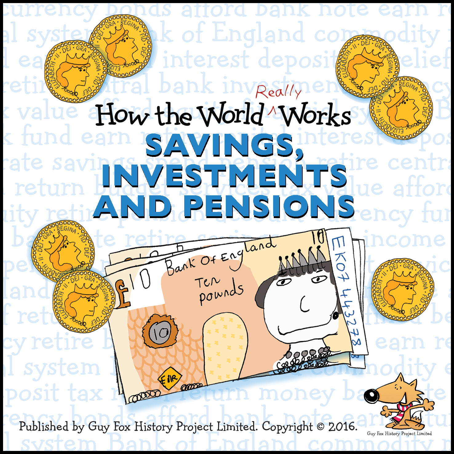 UK Version of 'How the World REALLY Works: Savings Investments and Pensions' Book Cover