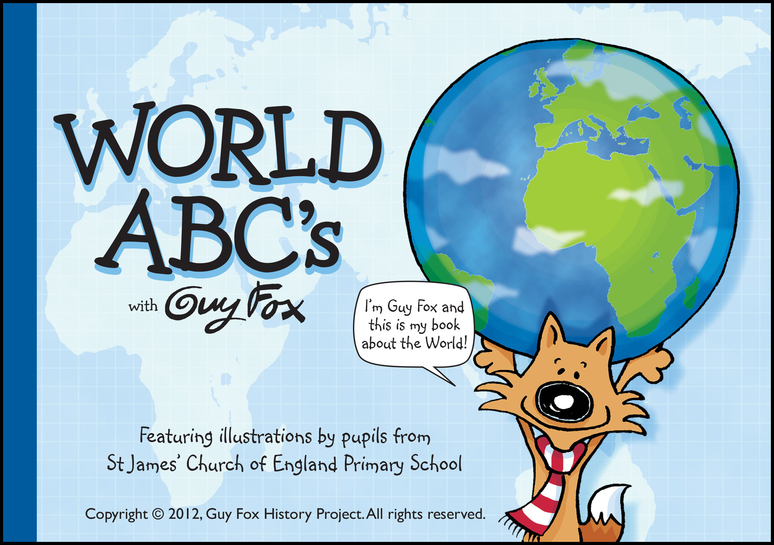 World ABCs Book Cover