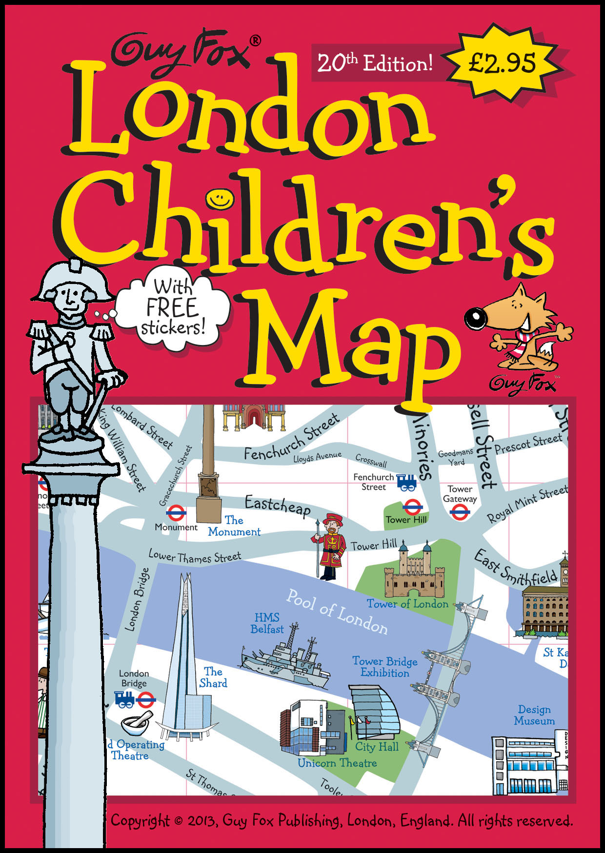 London Children's Map Cover