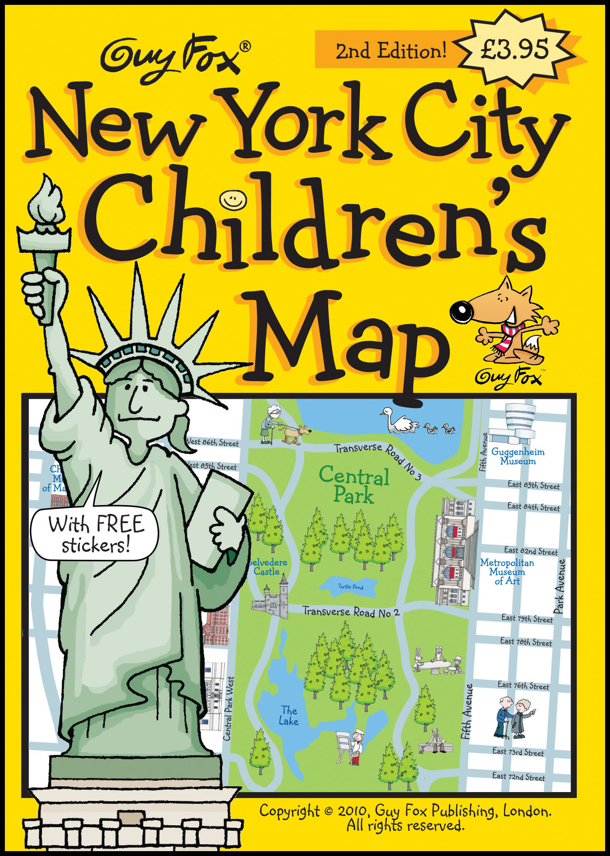 New York City Children's Map Cover