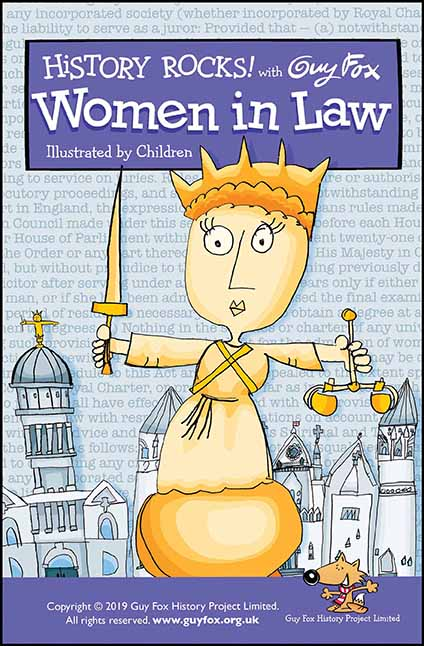 'History Rocks: Women in Law' Book Cover