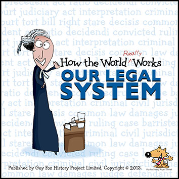 'How the World REALLY Works: Our Legal System' Book Cover
