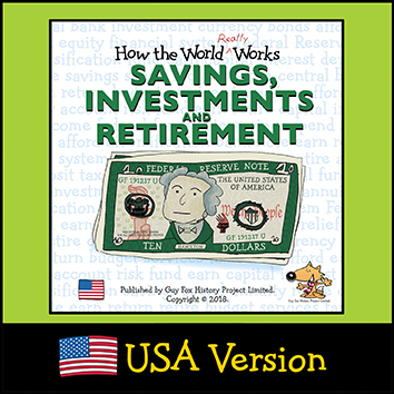 USA Version of 'How the World REALLY Works: Savings, Investments and Retirement' Book Cover
