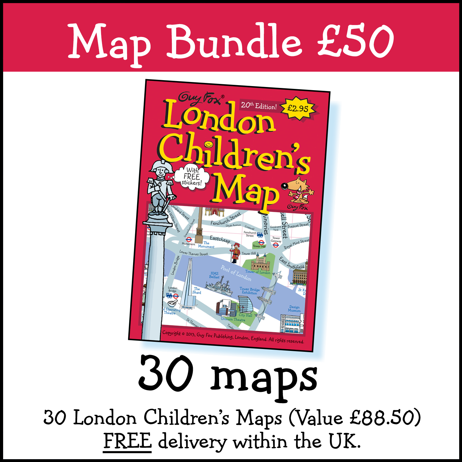 30 Maps for £50