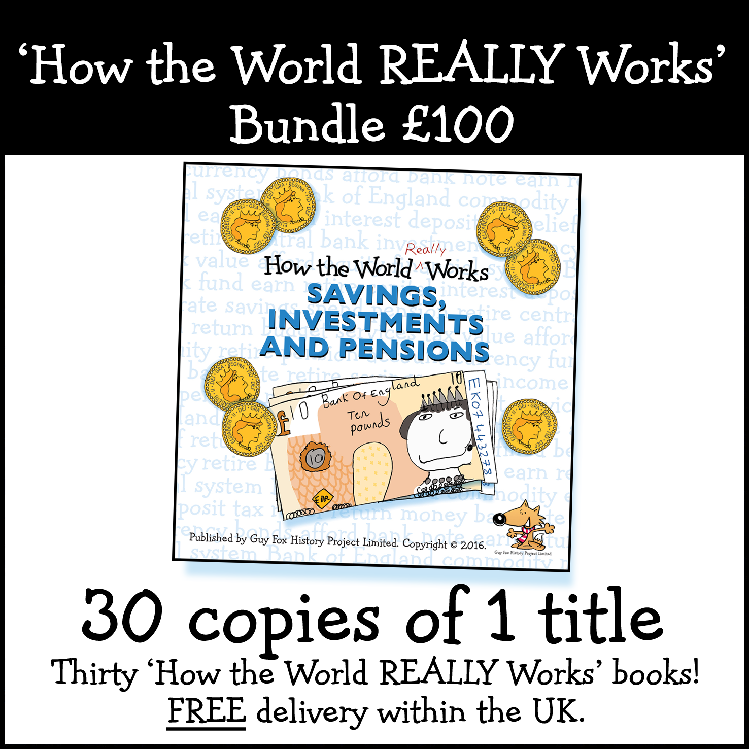 30 Books for £100
