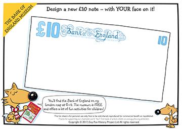 Create: Design a £10 Note