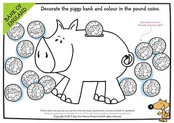 Create: Decorate the Piggy Bank