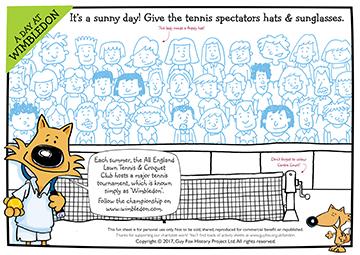 Create: Sunglasses for the Wimbleon Spectators