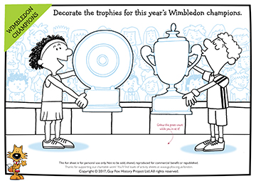 Create: Wimbledon Trophies