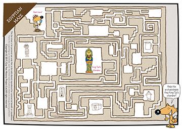 Egyptian Maze Puzzle