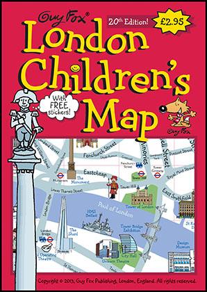 London Children's Map Cover