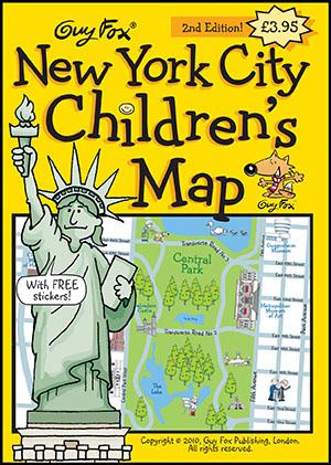 New York City Children's Map Cover