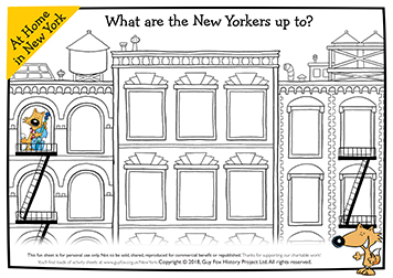 New Yorkers at Home