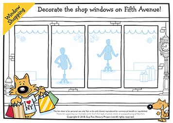 Decorate the Shop Window