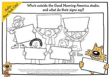 Good Morning America Signs