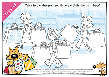 Decorate the Shoppers' Bags