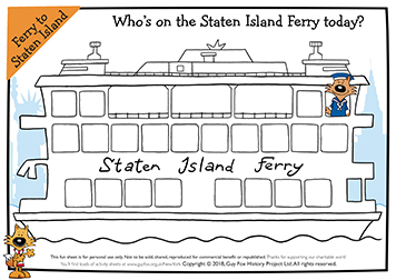 Who's on the Staten Island Ferry