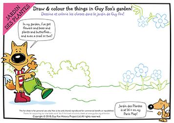 What's in Guy Fox's Garden