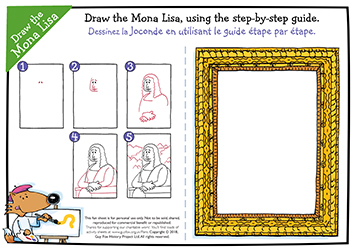 Step-by-Step Draw the Mona Lisa