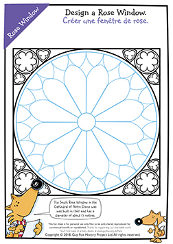 Create the Rose Window at Notre Dame