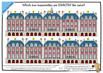 Find the Matching Maisonettes
