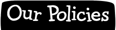 Our Policies Header